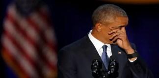 emotional farewell speech of Obama