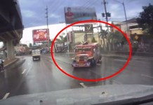 Speeding Jeepney