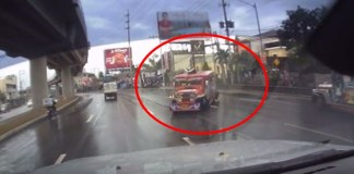 Speeding Jeepney