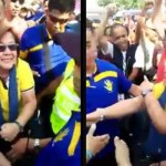 Viral: Large Crowd Insults Senator De Lima By Shouting The Name Duterte In Front Of Her