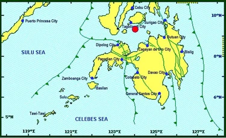 Magnitude 5.9 Earthquake