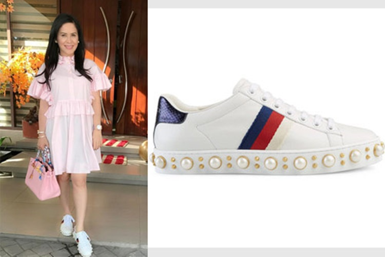 List Of Pinay Female Celebrities Using Gucci Shoes