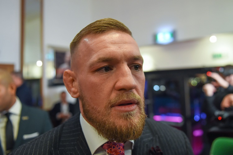 Conor McGregor Surrenders To New York Police After