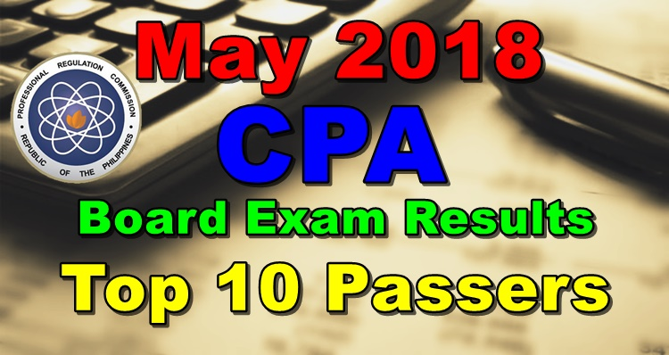 May 2018 CPA Board Exam