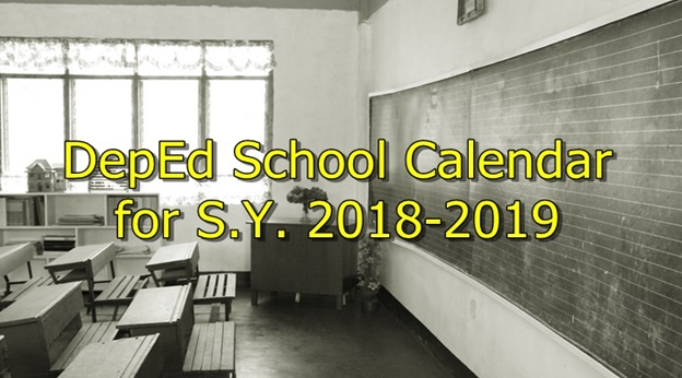 Look Deped Posts Official School Calendar For Sy 2018 2019