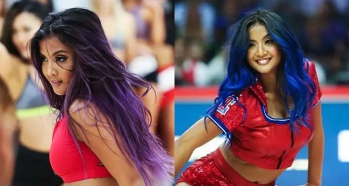 Image result for Kyla Fajardo - Clippers Spirit Dancers