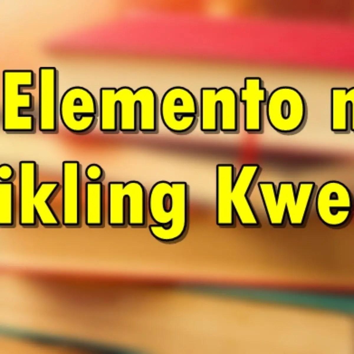 Halimbawa Ng Graphic Organizer Ng Maikling Kwento