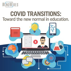 COVID Transitions podcast logo