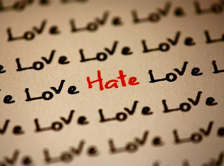 How do you conquer hate? May I present one possible method?