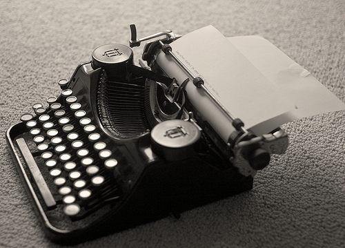 This is a typewriter. Most exist in museums. Some of the companies adapted to the change, others are but an unhappy memory.
