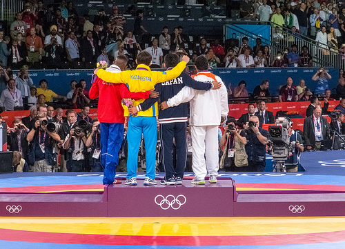 Only a few get to stand on the podium. Do you have the guts to go after your dream?