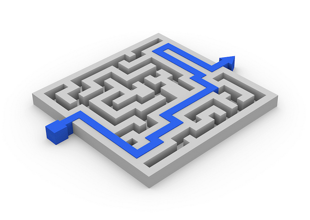 Are you taking action, or just wandering around in a maze?