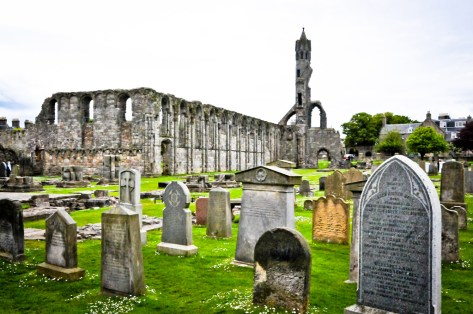 St Andrews Cathedral Ruins and Cemetery - St Andrews Scotland