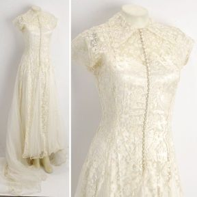 vintage-wedding-dress-cap-sleeves-bridal-gown-lace__full