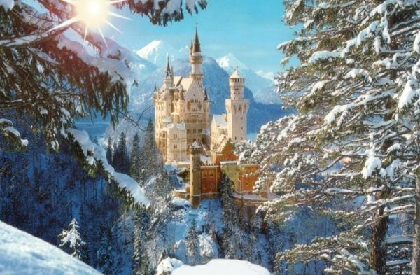 castles architecture buildings neuschwanstein castle_wallpaperswa.com_10