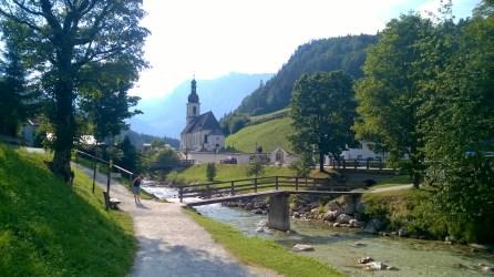 Classica visuale di Ramsau bei Berchtesgaden.