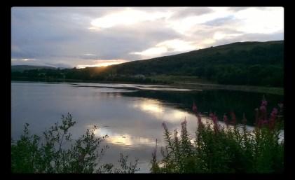 Tipico paesaggio scozzese, dintorni di Oban.