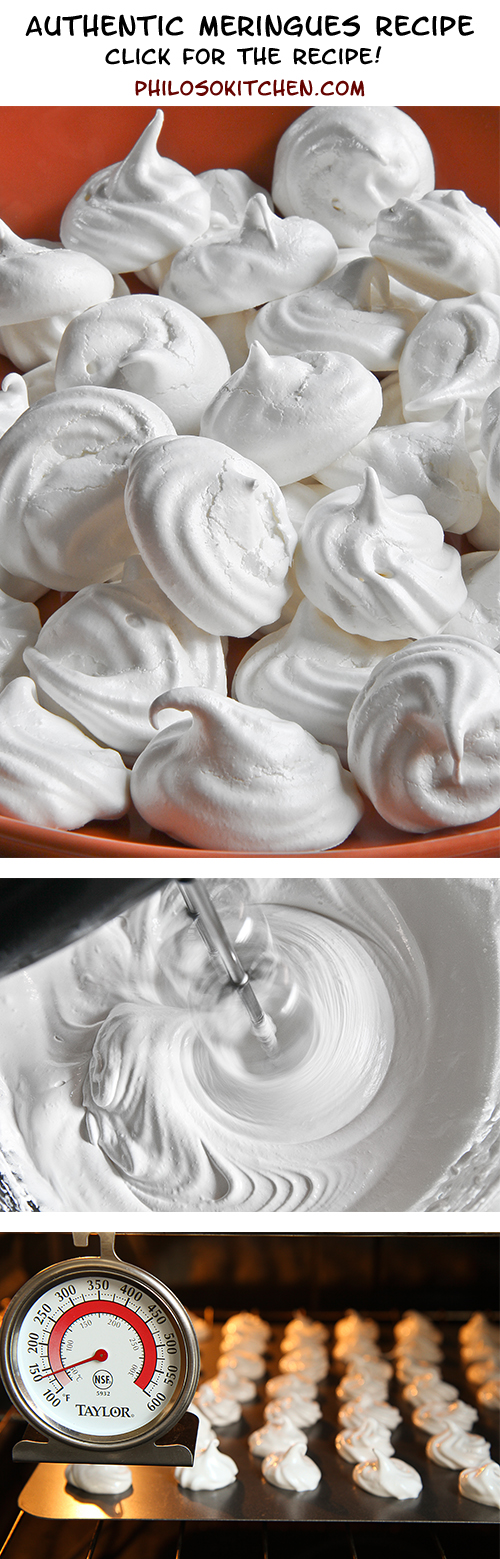 Authentic meringues recipe, very easy and super tasty!