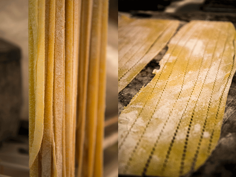 pasta fresca noodles Enzo's caffè italiano in Portland