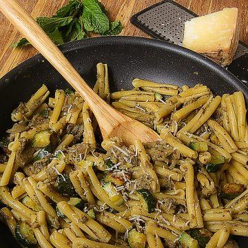 eggplant pesto caserecce