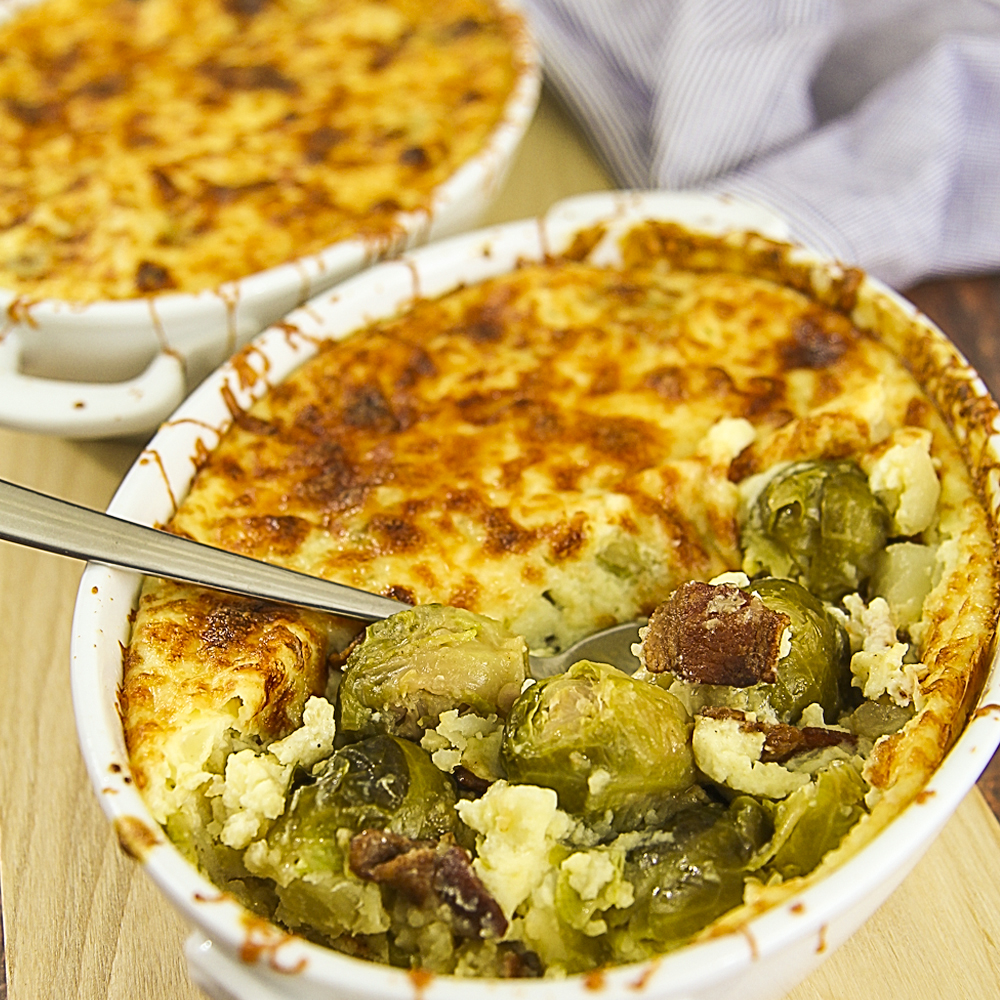 bussel sprouts casserole