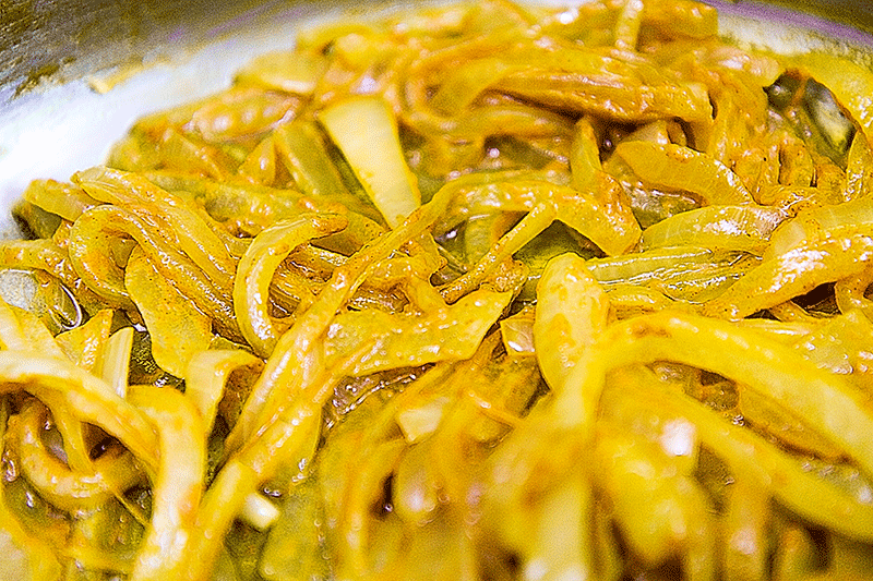 onions turmeric