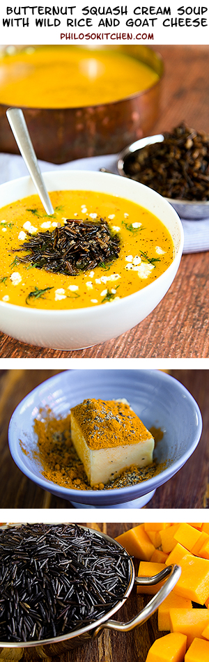 butternut squash cream soup