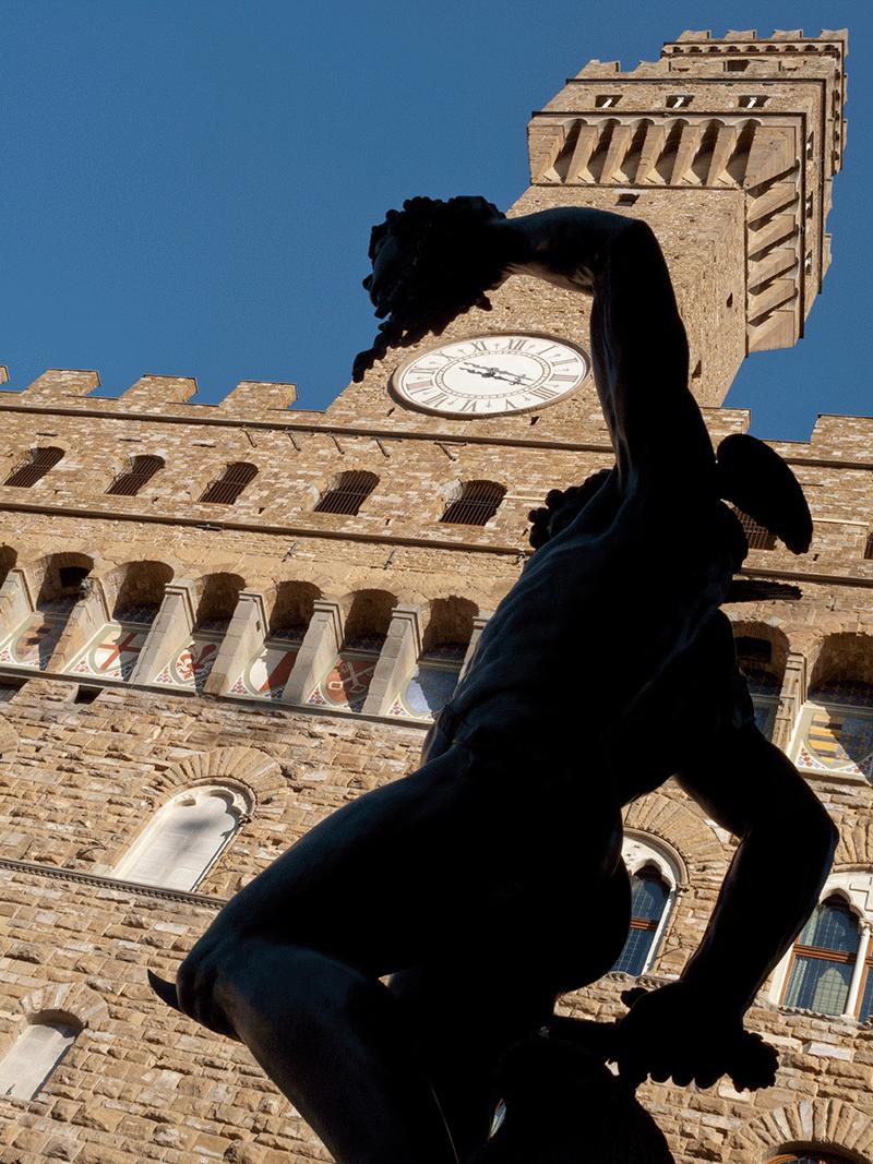 Palazzo Vecchio, visiting Florence, Tuscany, Italy