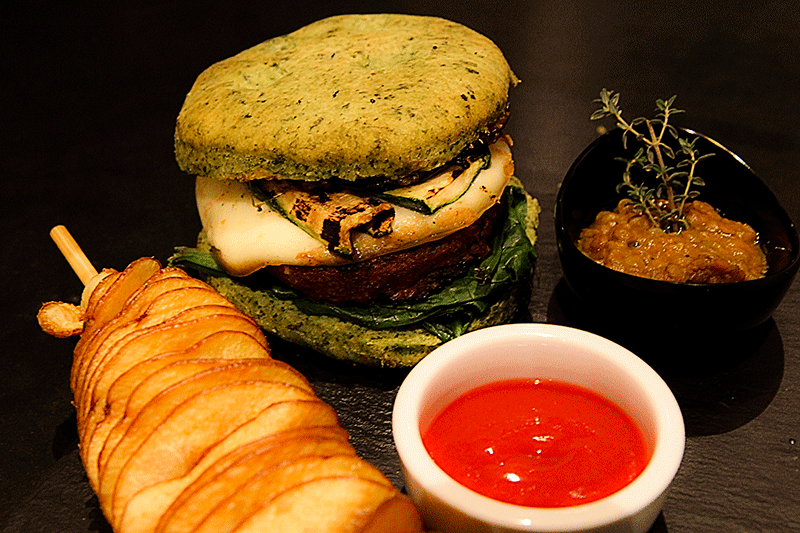 Vegetarian hamburger - where to eat in Florence