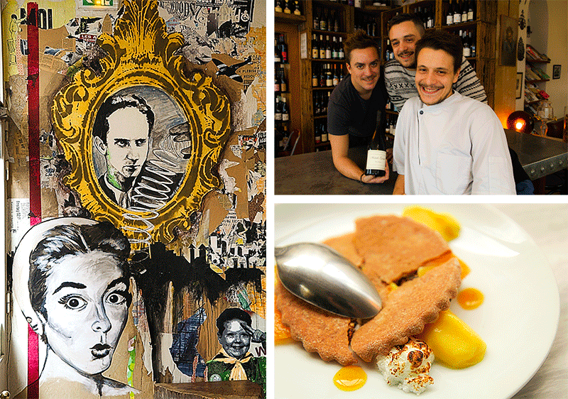 Cave de l'insolite - what and where to eat in Paris