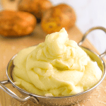 Italian mashed potatoes - puré di patate all'italiana