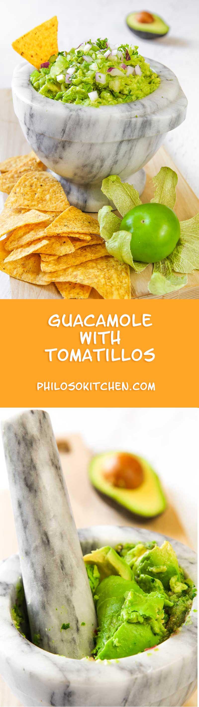 GUACAMOLE WITH TOLATILLO