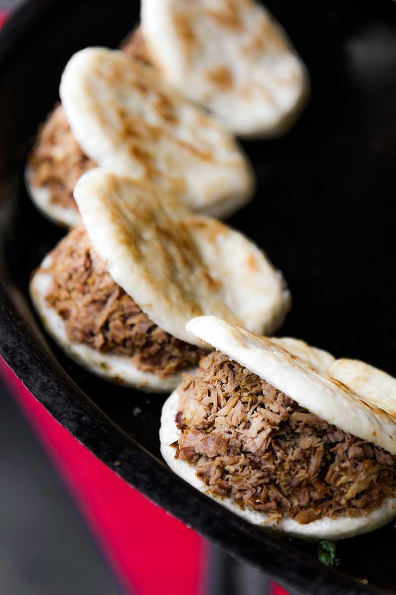 Cha siu bao : BBQ pork bun - food tips - my foodie travel in Beijing , China - Chinese cuisine