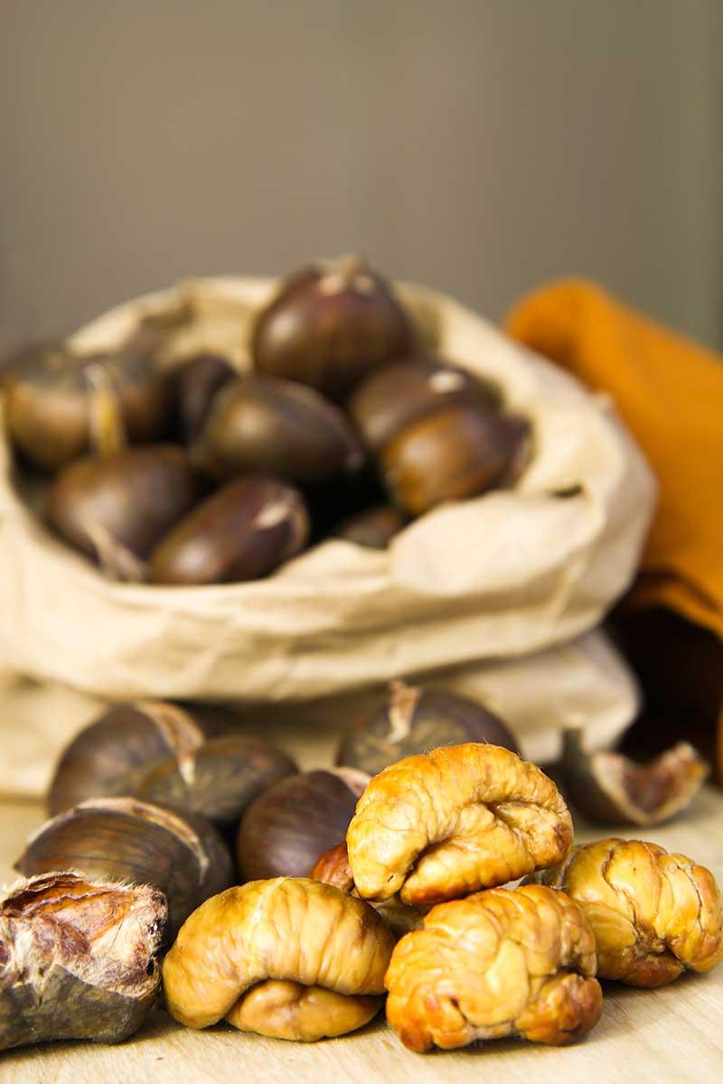 ROASTED CHESTNUTS RECIPE caldarroste
