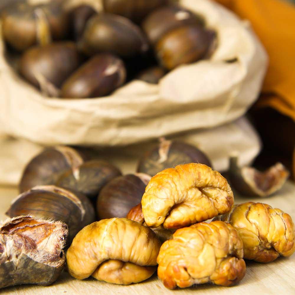 ROASTED CHESTNUTS caldarroste recipe