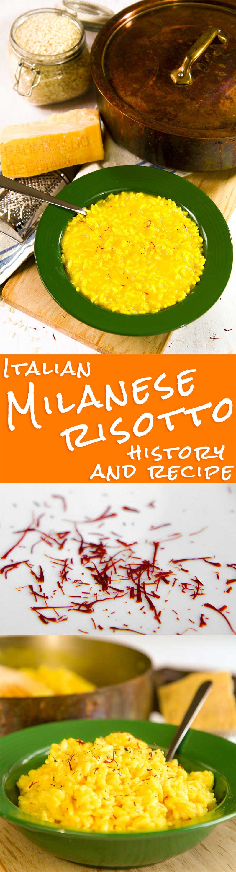 RISOTTO MILANESE recipe and history (Italian saffron rice)