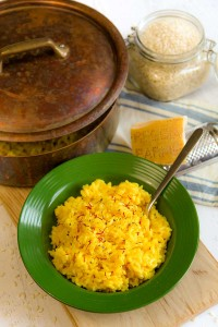 RISOTTO MILANESE recipe and history