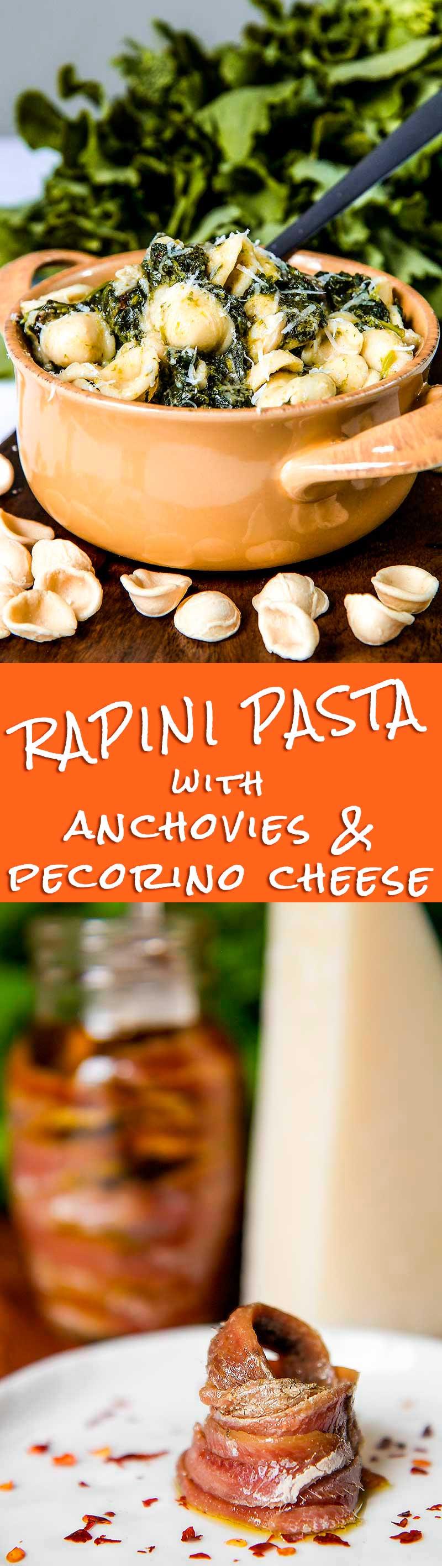 orecchiette with rapini and anchovies