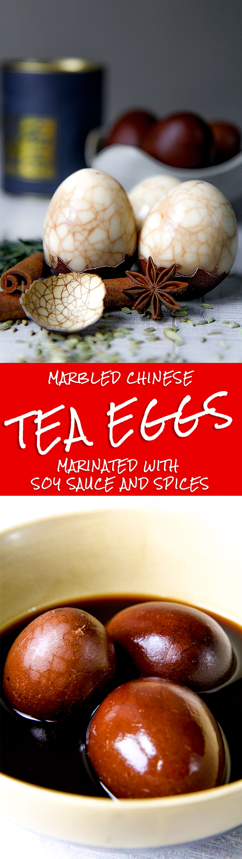 MARBLED CHINESE TEA EGGS RECIPE