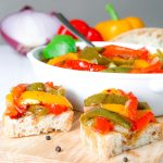 PEPERONATA RECIPE authentic Italian pan fried bell peppers