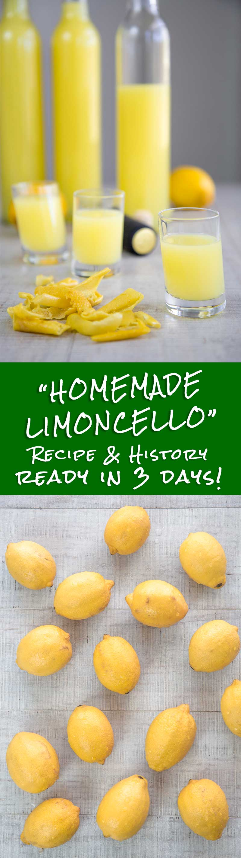 Homemade Limoncello Recipe And History Ready In 3 Days
