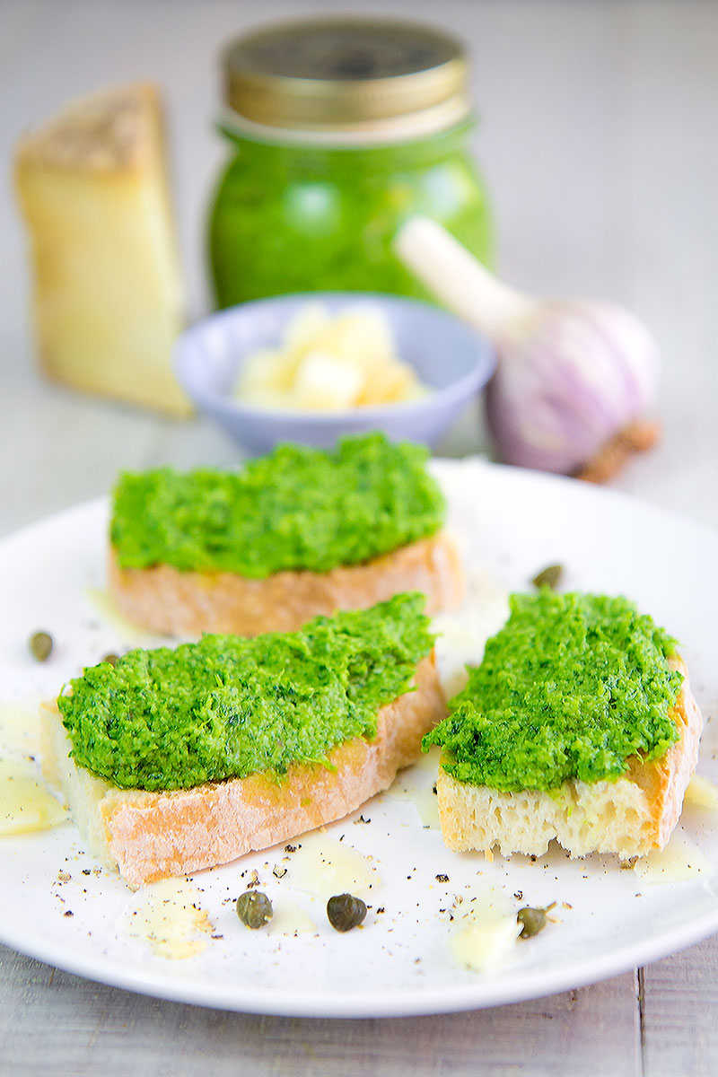 ITALIAN SALSA VERDE (parsley green sauce recipe)