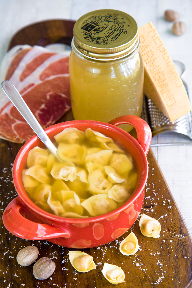 HOMEMADE TORTELLINI Italian traditional recipe and history
