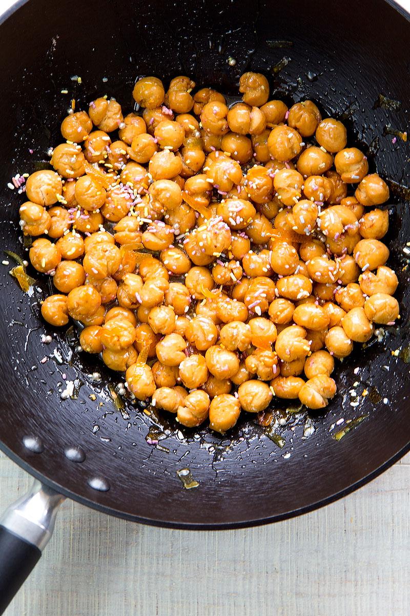 STRUFFOLI - traditional Italian honey balls