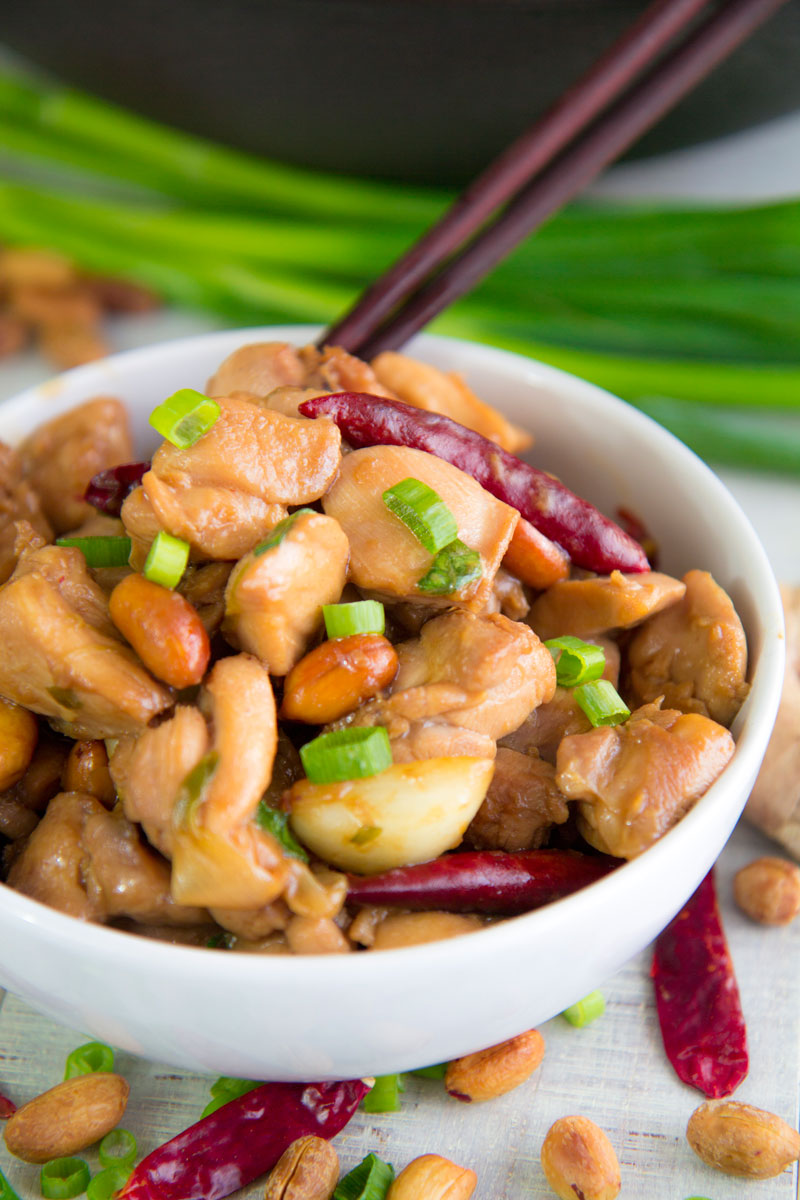 KUNG PAO CHICKEN RECIPE & HISTORY - all you need to know!