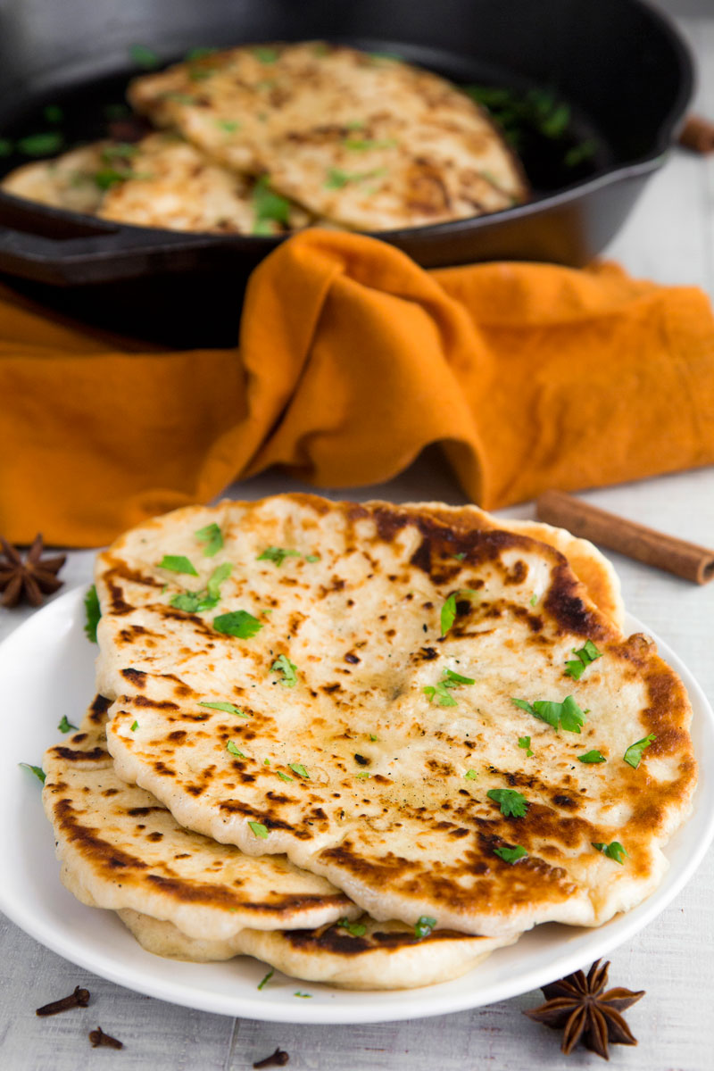 NAAN BREAD RECIPE & HISTORY - all you need to know!