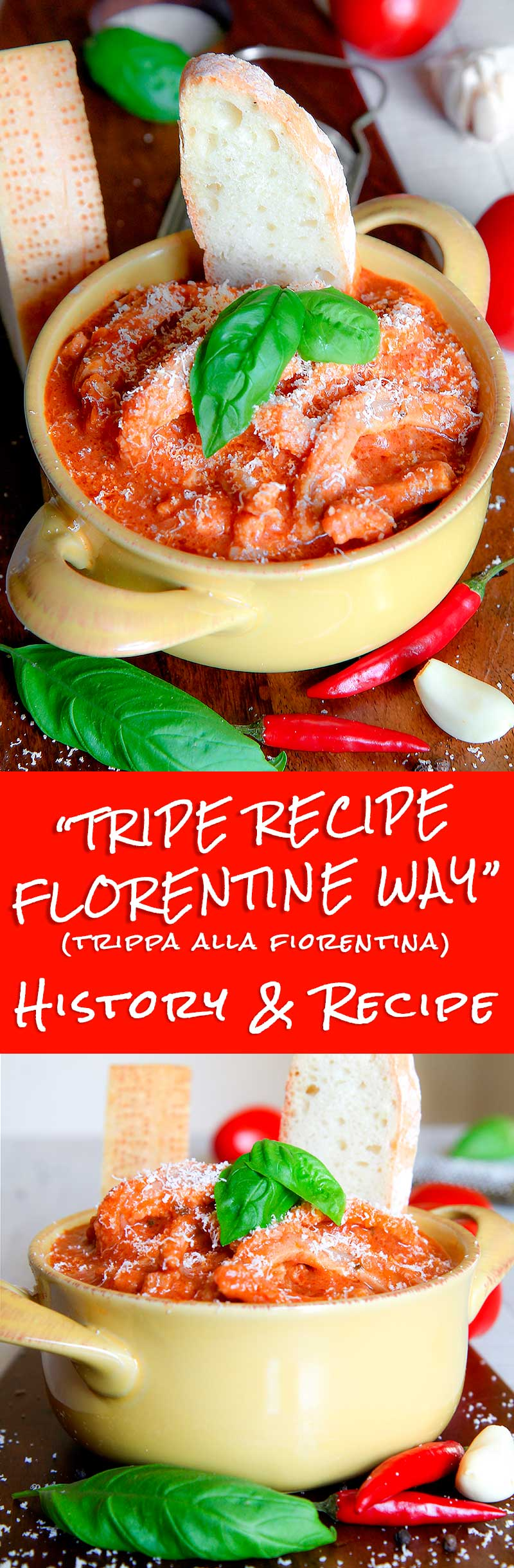 TRIPE RECIPE FLORENTINE WAY (trippa fiorentina) - All You Need To Know!