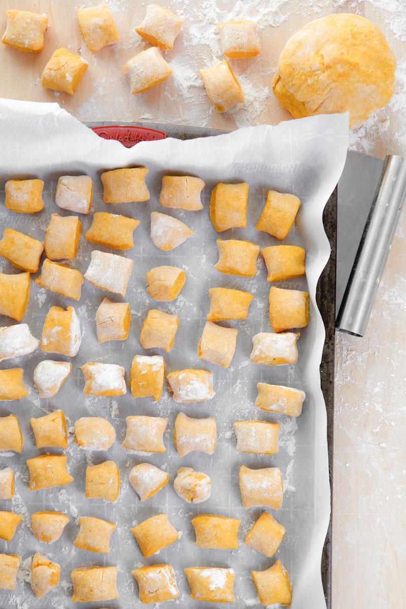 PUMPKIN GNOCCHI RECIPE - how to prepare homemade!