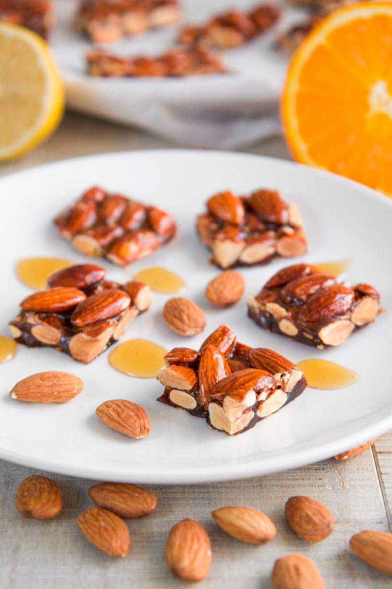 ITALIAN CROCCANTE -caramelized almond brittle recipe