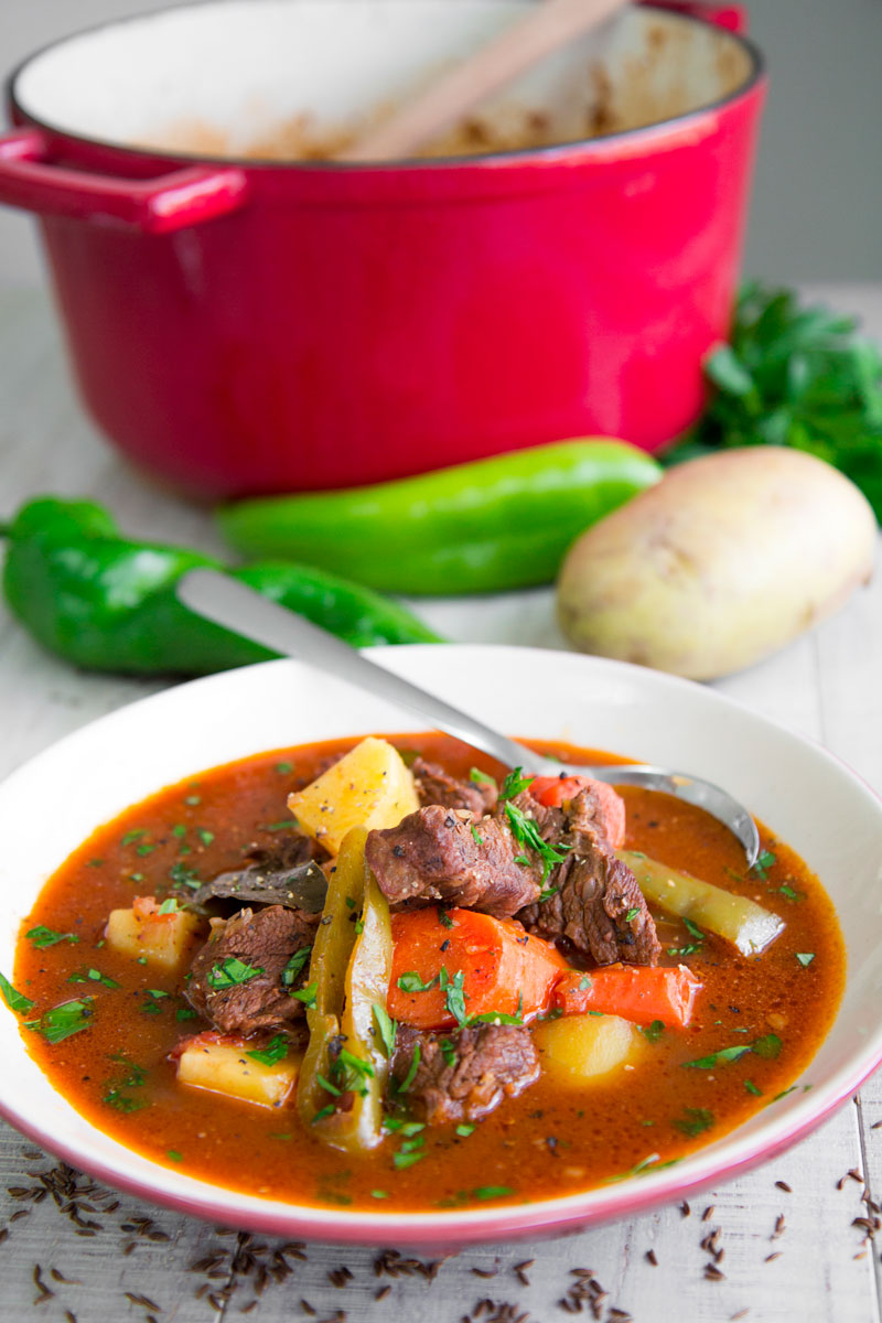 GOULASH RECIPE HUNGARIAN STYLE - all you need to know!